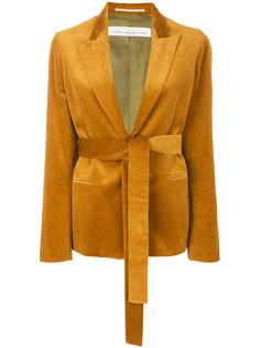 приталенный пиджак с поясом  Golden Goose Deluxe Brand