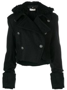 укороченная куртка с удлиненными рукавами Saint Laurent