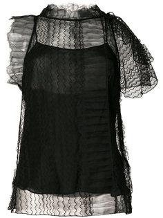кружевная блузка с вышивкой  3.1 Phillip Lim