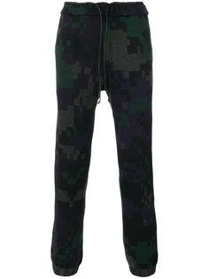 спортивные брюки стандартного кроя Sacai