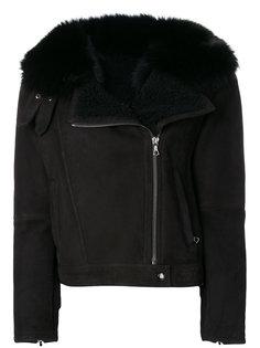 куртка на молнии  Yves Salomon