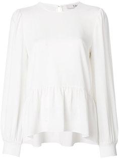 блузка с заниженной талией Savanna Tibi