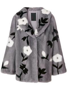 пальто с цветочным узором  Liska