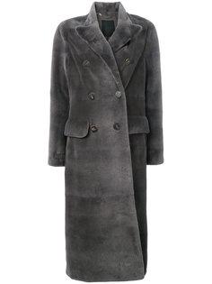 двубортное пальто  Liska