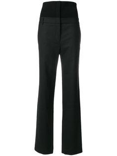 брюки с завышенной талией Tibi