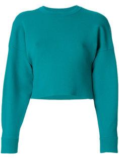 жаккардовый пуловер с длинными рукавами  Tibi