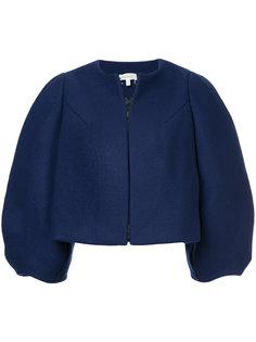укороченная оверсайз-куртка  Delpozo