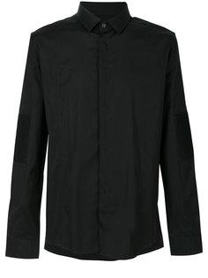 рубашка с заплатками на локтях Les Hommes