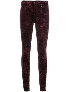 брюки скинни с классической талией  J Brand