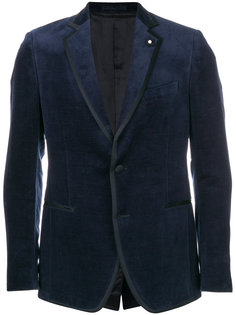 однобортный пиджак Lardini