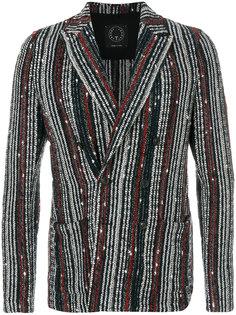 пиджак с декоративными пуговицами Tonello