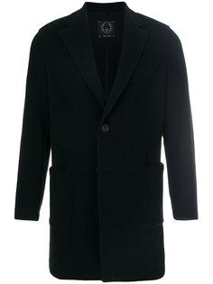 пальто прямого кроя на пуговицах Tonello