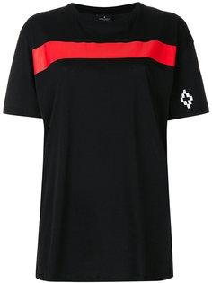 футболка колор блок со вставкой  Marcelo Burlon County Of Milan