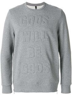 толстовка Gods Will Be Gods Neil Barrett