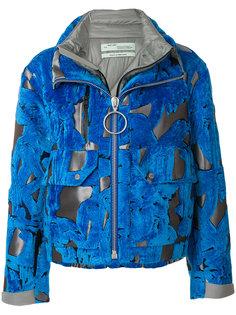 куртка с абстрактным узором Off-White