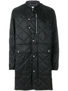 удлиненное стеганое пальто Oamc