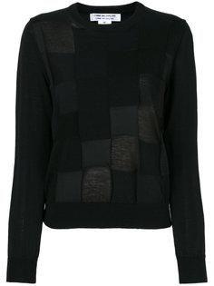 свитер с круглым вырезом  Comme Des Garçons Comme Des Garçons