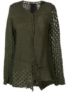 приталенный свитер с вышивкой  Rundholz Black Label
