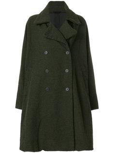 строгое двубортное пальто  Rundholz Black Label
