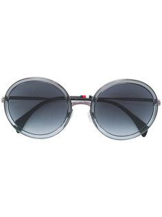 солнцезащитные очки в круглой оправе Tommy Hilfiger