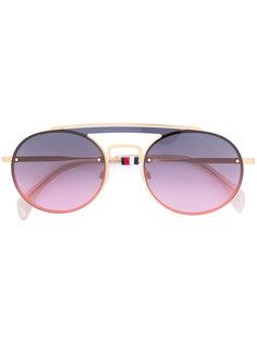 солнцезащитные очки-авиаторы с затемненными линзами Tommy Hilfiger