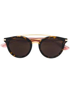 солнцезащитные очки в черепаховой оправе Tommy Hilfiger