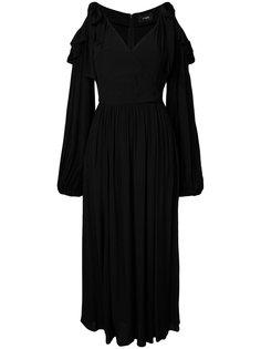 Rayon cold shoulder dress G.V.G.V.