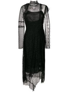 кружевное платье в стиле пэчворк 3.1 Phillip Lim