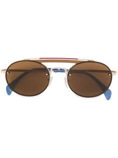 солнцезащитные очки с джинсовой вставкой Tommy Hilfiger