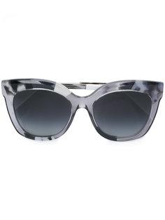 солнцезащитные очки в прозрачной оправе Fendi Eyewear