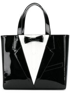 сумка-тоут в строгом стиле Thom Browne