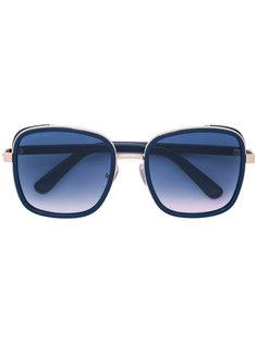 солнцезащитные очки в объемной оправе Jimmy Choo Eyewear