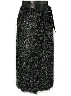 юбка с поясом и высокой талией Petar Petrov