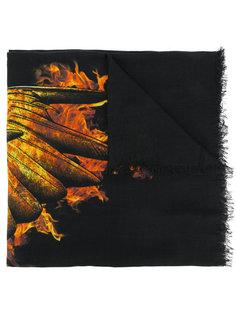 шарф с огненным принтом Marcelo Burlon County Of Milan