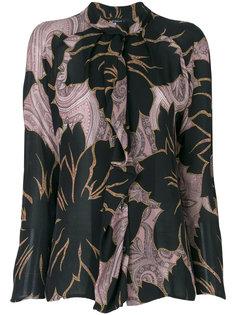 блузка с цветами и принтом пейсли  Etro