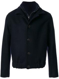 куртка на молнии и пуговицах Giorgio Armani