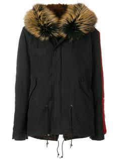 пальто-парка с вышивкой  Mr & Mrs Italy