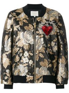 жаккардовая куртка-бомбер  Amen Amen.