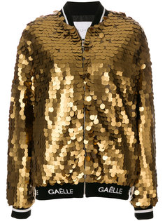 куртка-бомбер металлик  Gaelle Bonheur