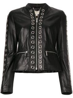 куртка с отделкой кольцами  Michael Michael Kors