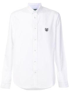рубашка с вышивкой Tiger Kenzo