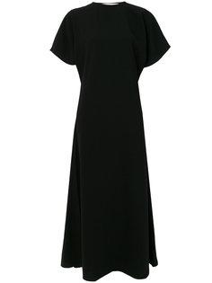 креповое платье миди  JW Anderson