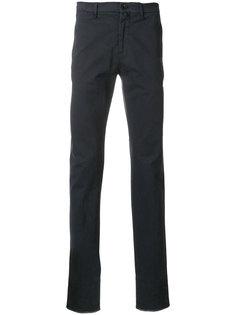 брюки-чинос прямого кроя Lardini
