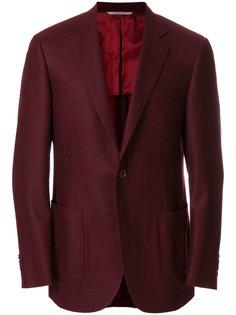 пиджак с накладными карманами Canali