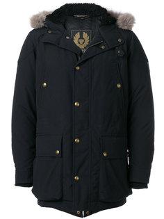 стеганое пальто с капюшоном Belstaff