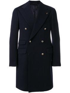 пальто с заостренными лацканами Gabriele Pasini