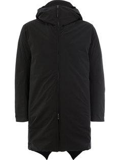 пуховое пальто с капюшоном Attachment