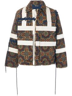 стеганая куртка с орнаментом Craig Green