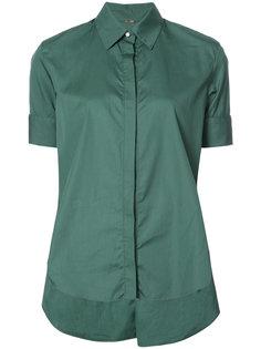 расклешенная рубашка с потайной застежкой Adam Lippes