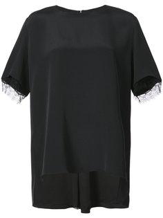 блузка с кружевной отделкой Adam Lippes